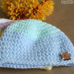 18 Inch Doll Camila Hat Crochet Pattern   Cream Of The Crop Crochet