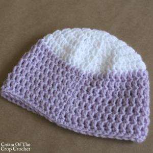 18 Inch Doll Camila Hat Crochet Pattern | Cream Of The Crop Crochet