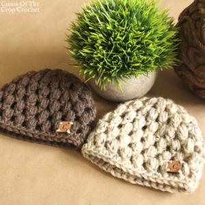 18 Inch Doll Chloe Hat Crochet Pattern | Cream Of The Crop Crochet