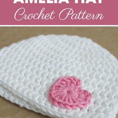 18 Inch Doll Amelia Hat Crochet Pattern