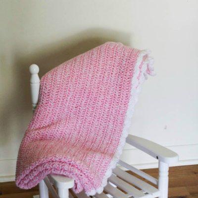 Ellen Baby Blanket Crochet Pattern