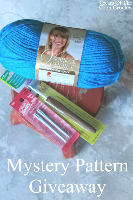 Mystery Pattern Giveaway | Cream Of The Crop Crochet
