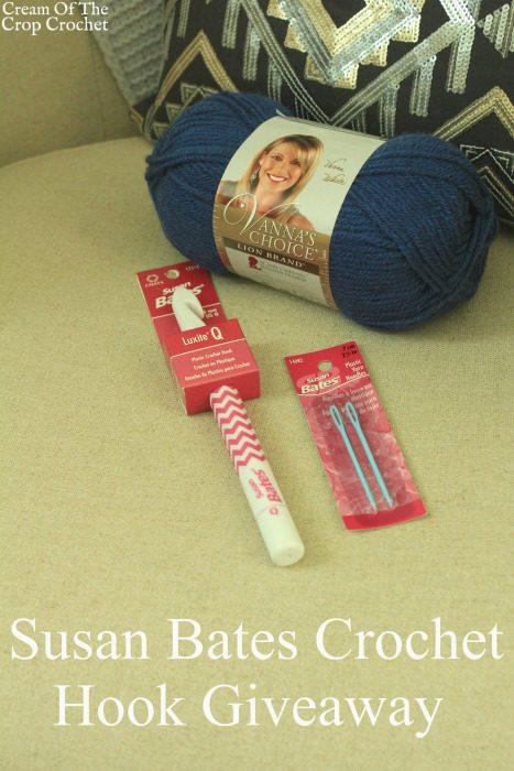 Susan Bates Crochet Hook Giveaway   Cream Of The Crop Crochet