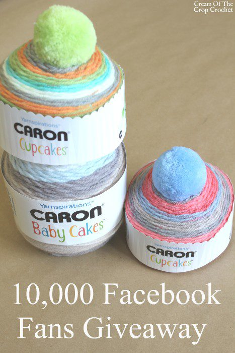 10,000 Facebook Fans Giveaway | Cream Of The Crop Crochet