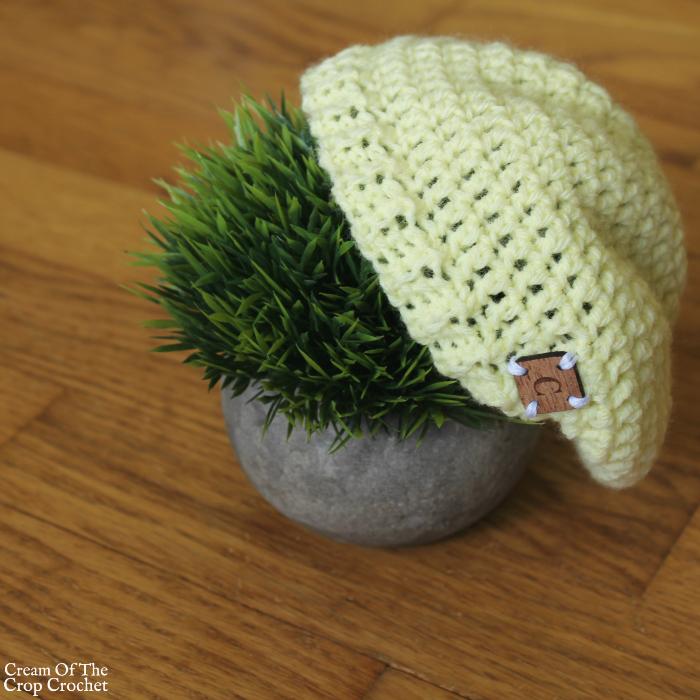 18 Inch Doll Dakota Slouch Crochet Pattern | Cream Of The Crop Crochet
