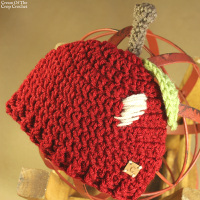 Ann the Apple Hat Crochet Pattern