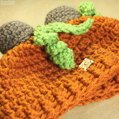Jack the Pumpkin Hat Crochet Pattern