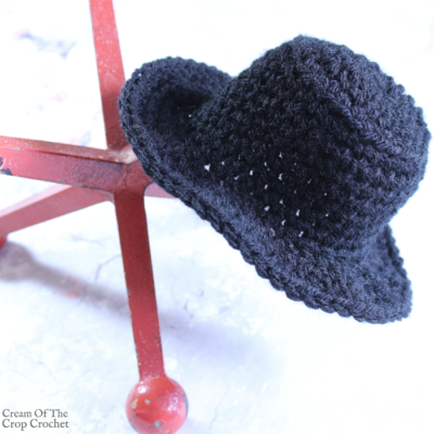 Mini Top Hat Crochet Pattern | Cream Of The Crop Crochet