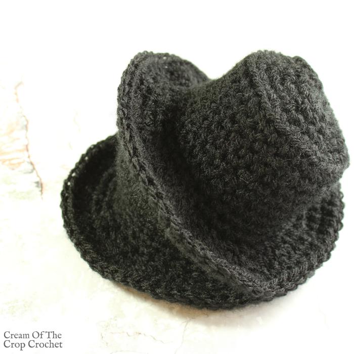Mini Top Hat Crochet Pattern | Cream Of The Crop Crochet