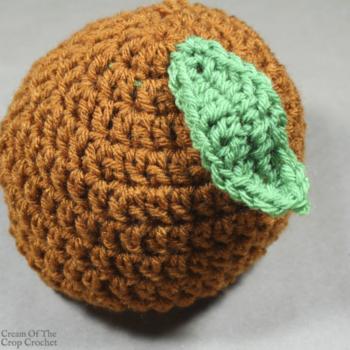 Polly the Pumpkin Hat Crochet Pattern | Cream Of The Crop Crochet
