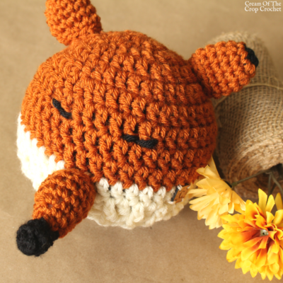 Felicity the Fox Hat Crochet Pattern