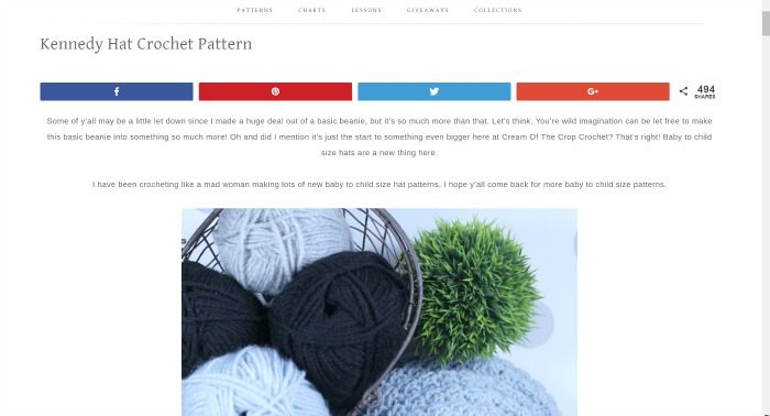 How to improve your crochet blogging game??? | Cream Of The Crop Crochet