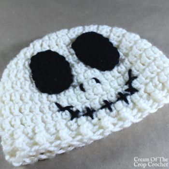 Seth the Skeleton Hat Crochet Pattern | Cream Of The Crop Crochet