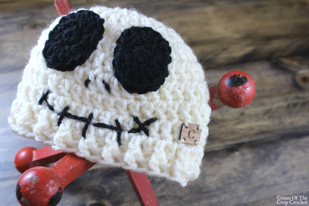 Seth the Skeleton Hat Crochet Pattern | Cream Of The Crop Crochet