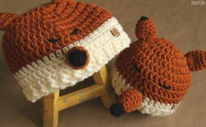 Felicity the Fox Hat Crochet Pattern | Cream Of The Crop Crochet