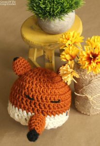 Felicity the Fox Hat Crochet Pattern | Cream Of The Crop Crochet