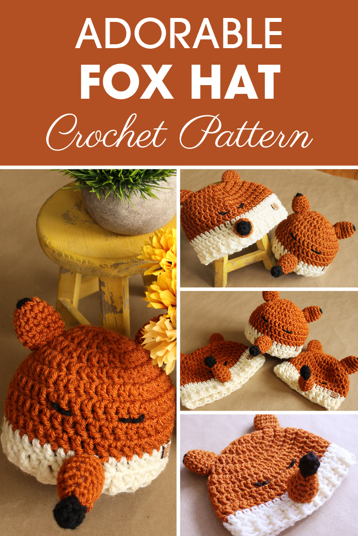 Felicity the Fox Hat Crochet Pattern can be a fun and cute project to make for the kids. Try it out! #crochet #crochethat #crochetaddict #crochetpattern #freecrochetpattern #crochetlove