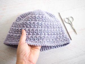 Star Stitch Crochet Hat Crochet Pattern