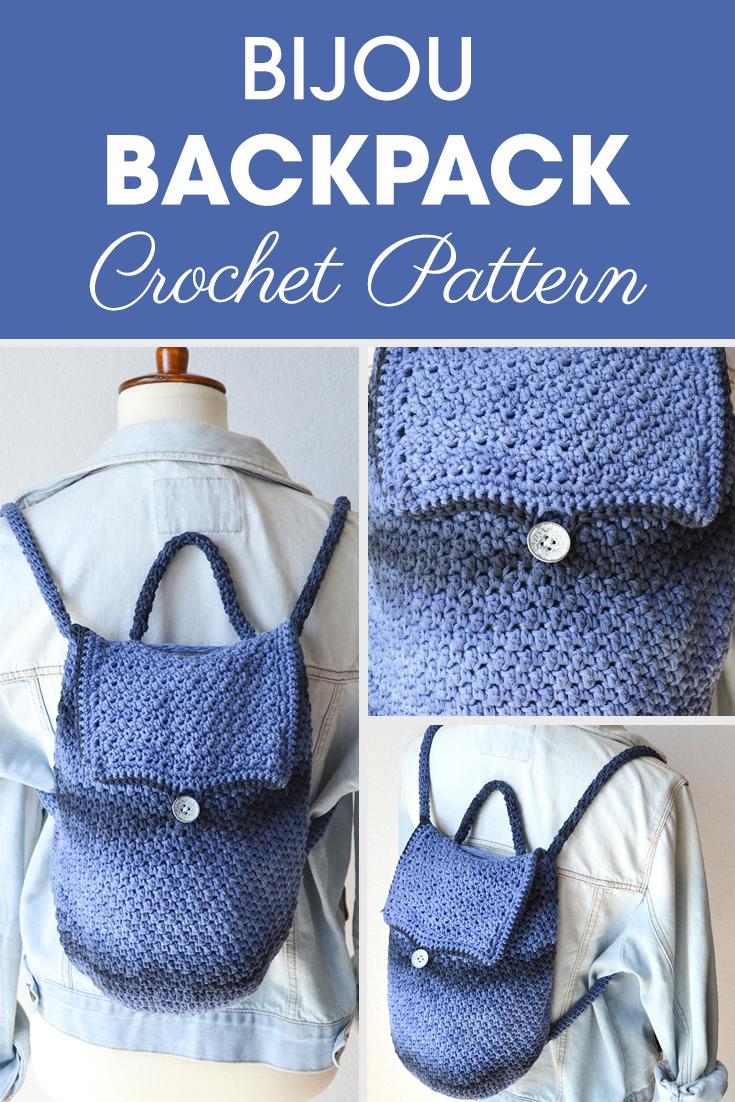 Bijou Backpack Crochet Pattern