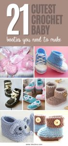 The Cutest Crochet Baby Booties You Need To Make