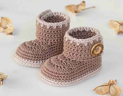 Cocoa Baby Ankle Booties