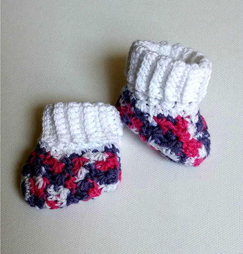 Galaxy Baby Booties