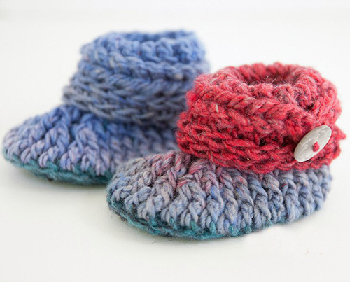 8871f65e3 21 Of The Cutest Crochet Baby Booties You Need To Make