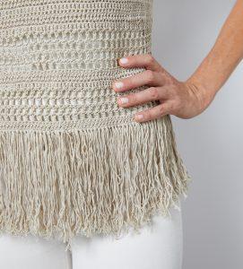 Fringe Tank Top Crochet Pattern