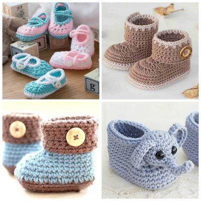 21 Of The Cutest Crochet Baby Booties You Need To Make
