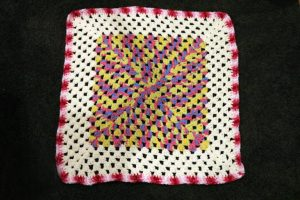 Baby Granny Square Crochet Blanket