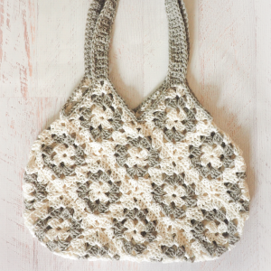 Granny Square Knitting Bag Crochet Pattern