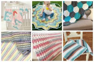 These 15 Free Baby Blanket Crochet Patterns are snuggly, and your little one is sure to love them. #crochetpatterns #crochetblanket #crochetbabyblanket #crochetlove #crochetaddict