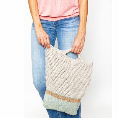 Market Tote Bag Crochet Pattern