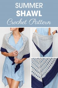 Summer Shawl Crochet Pattern