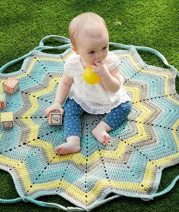 Convertible Blanket Bag Crochet