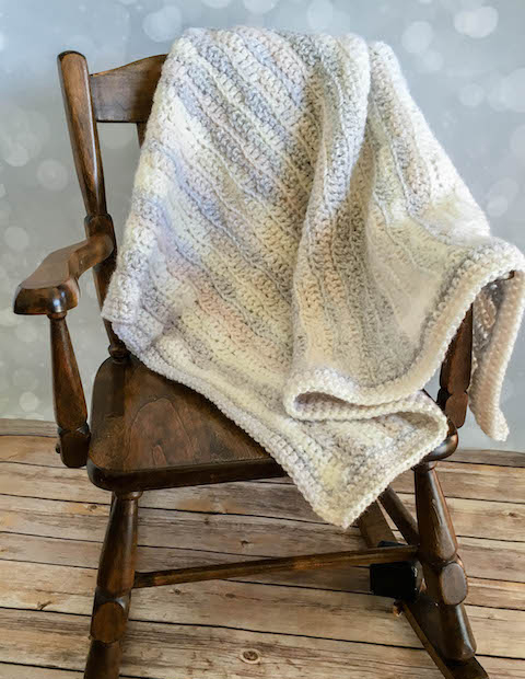 Dreamy Waves Baby Crcohet Blanket