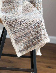 Jane Throw Baby Crochet Blanket