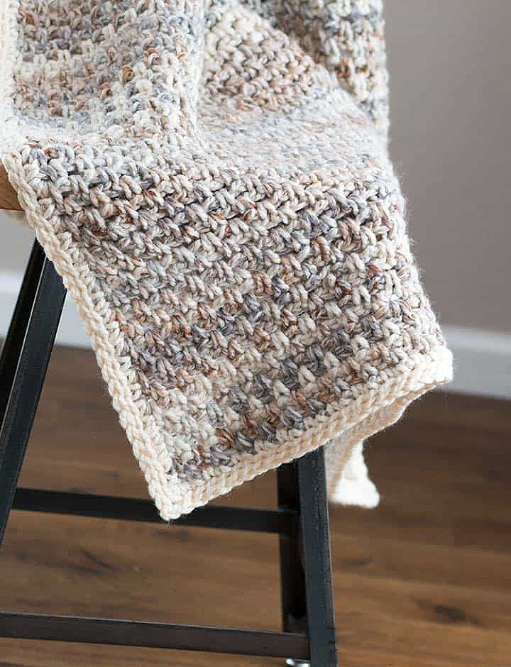 Jane Throw Baby Crochet Blanket