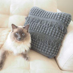 Crochet Textured Cushion Crochet Pattern