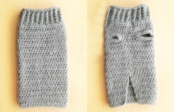 Extra Small Dog Sweater Crochet Pattern