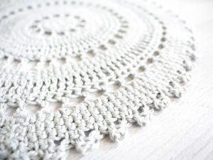 Table Placemat Set Crochet Pattern