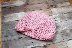 Preemie Newborn Lacy Butterfly Hat