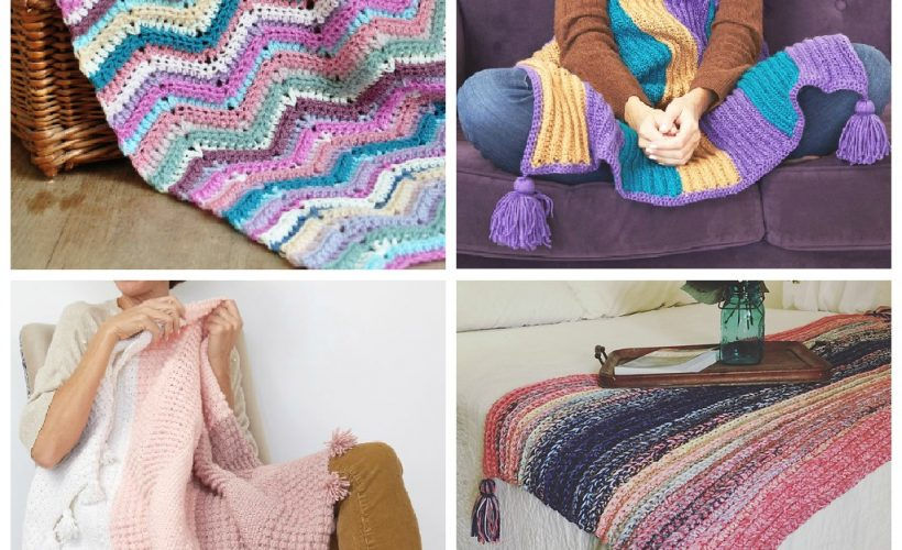 16 Crochet Blankets to Keep you Cozy