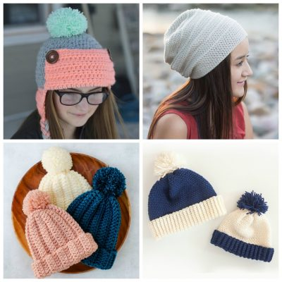 Top 21 Easy to Crochet Winter Hats