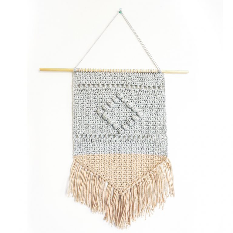 Boho Wall Hanging | by Cream of the Crop Crochet