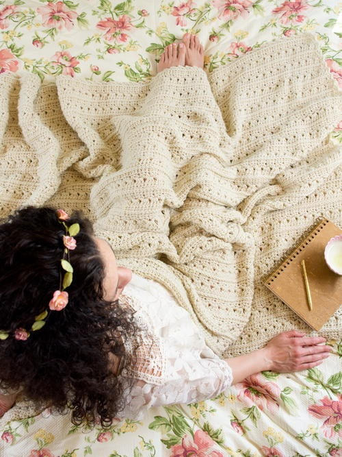 Easy Primrose and Proper Crochet Blanket