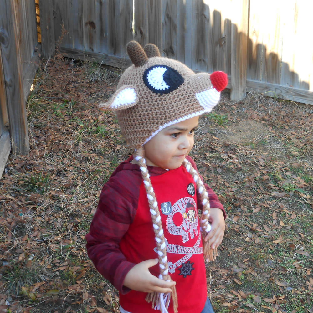 Red-Nosed Reindeer Hat  f9abeb38db1