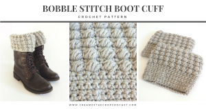 These crochet boot cuffs are really easy to make and are worked in a beautiful silver shade. Make yourself a pair to dress up your winter wardrobe. Or make a pair for a friend to celebrate Christmas. Whatever the reason, these cuffs will stay snuggly and warm during the winter chill.