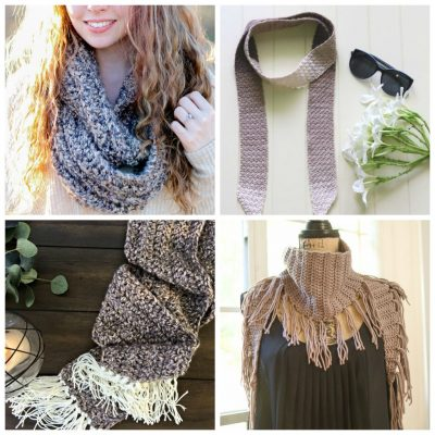 12 Crochet Scarf Patterns for Beginners