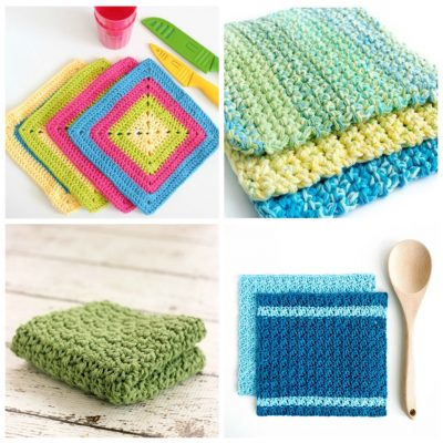 20 Easy Crochet Dishcloth Patterns